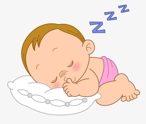 Картинка ребенок спит для детей 015