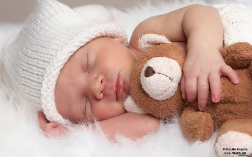 Картинка ребенок спит для детей 022