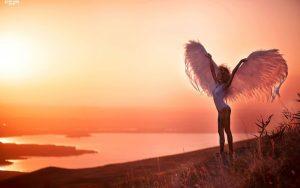 Картинка с крыльями девушка   фото 028