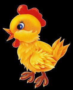Картинка цыпленок для детей на прозрачном фоне024