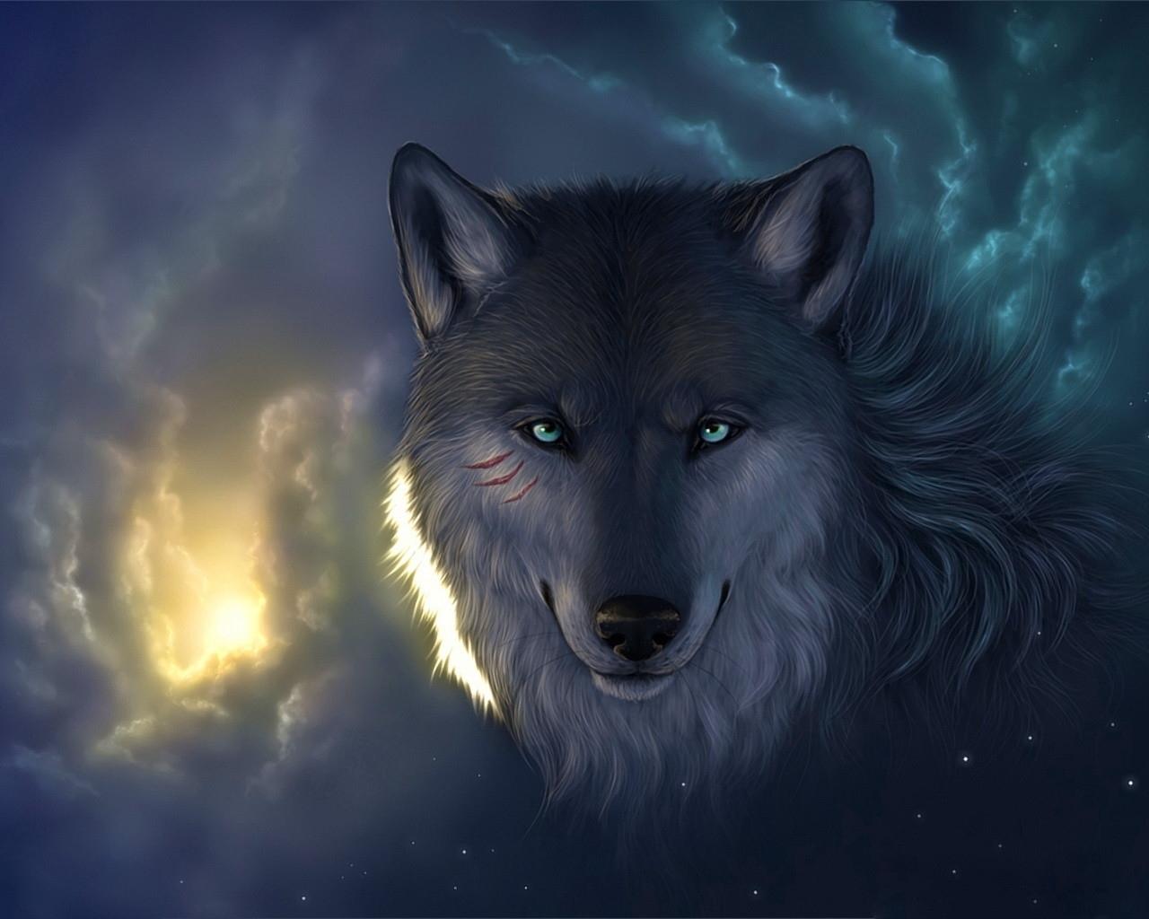 Картинки Волки скачать на рабочий стол бесплатно (14)