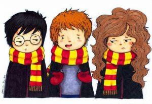 Картинки Гарри Поттер карандашом для срисовки 028