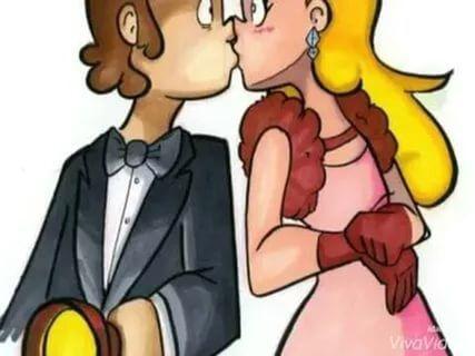 Картинки Гравити фолз Диппер и Пасифика любовь (21)