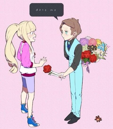 Картинки Гравити фолз Диппер и Пасифика любовь (7)