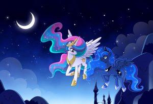 Картинки Принцесса луна и Принцесса селестия   сборка (27)