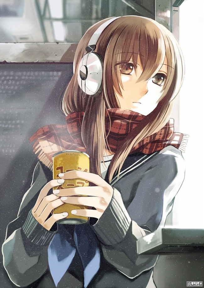 Картинки аниме грустные на аву для девушек014