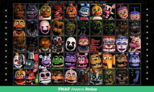 Картинки всех аниматроников из ФНАФ 018