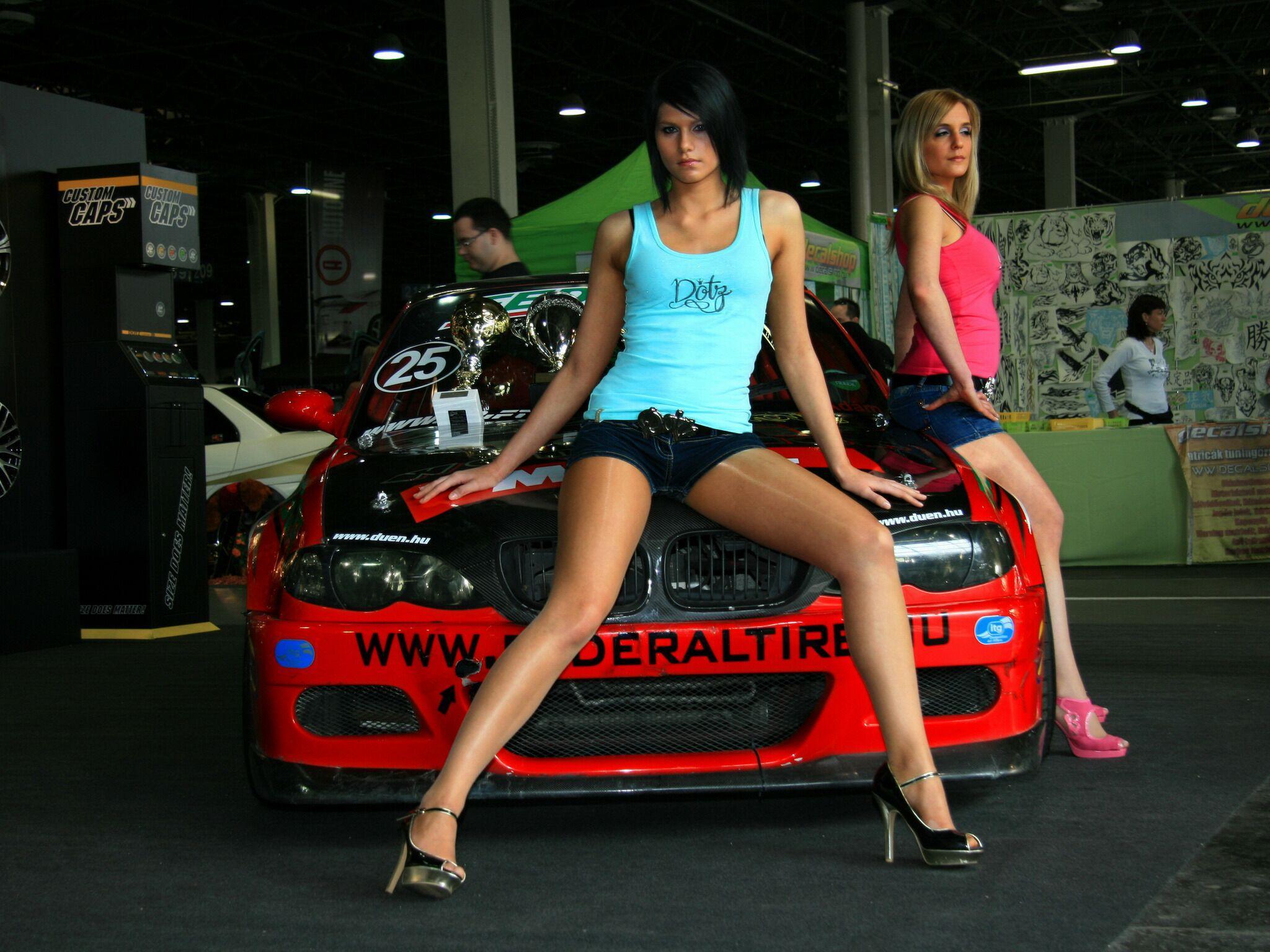 Картинки девушки и авто на рабочий стол коллекция (34)
