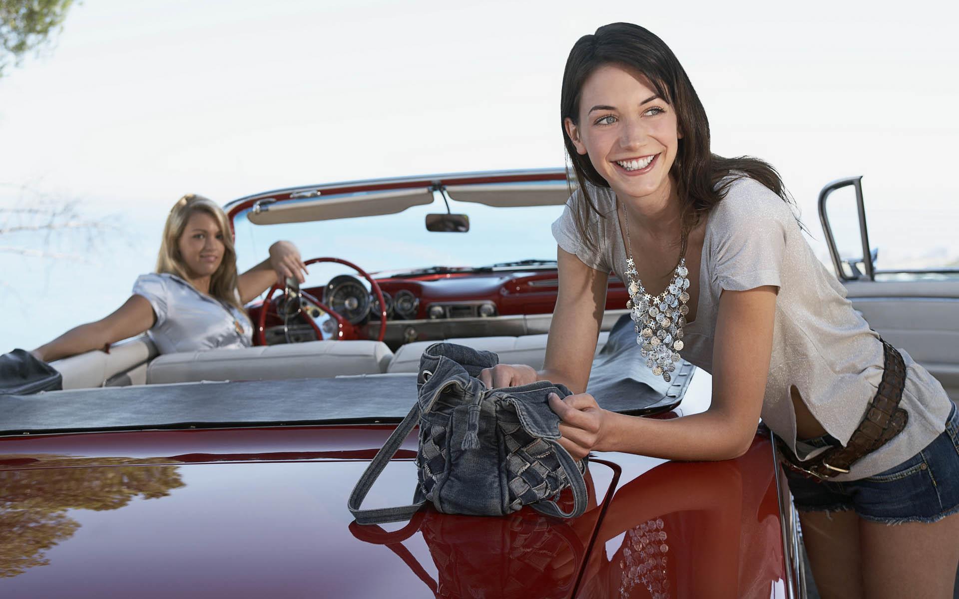 Картинки девушки и авто на рабочий стол коллекция (48)