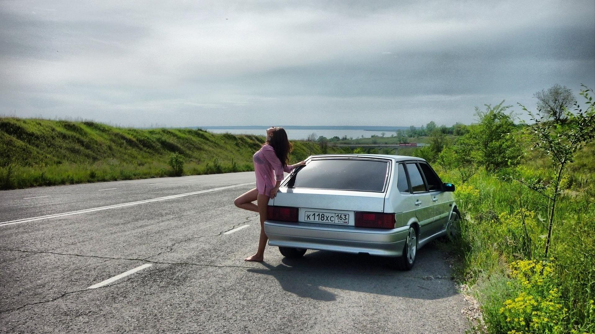 Картинки девушки и авто на рабочий стол коллекция