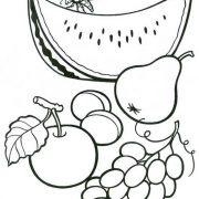 Картинки для детей груша раскраска   подборка 029