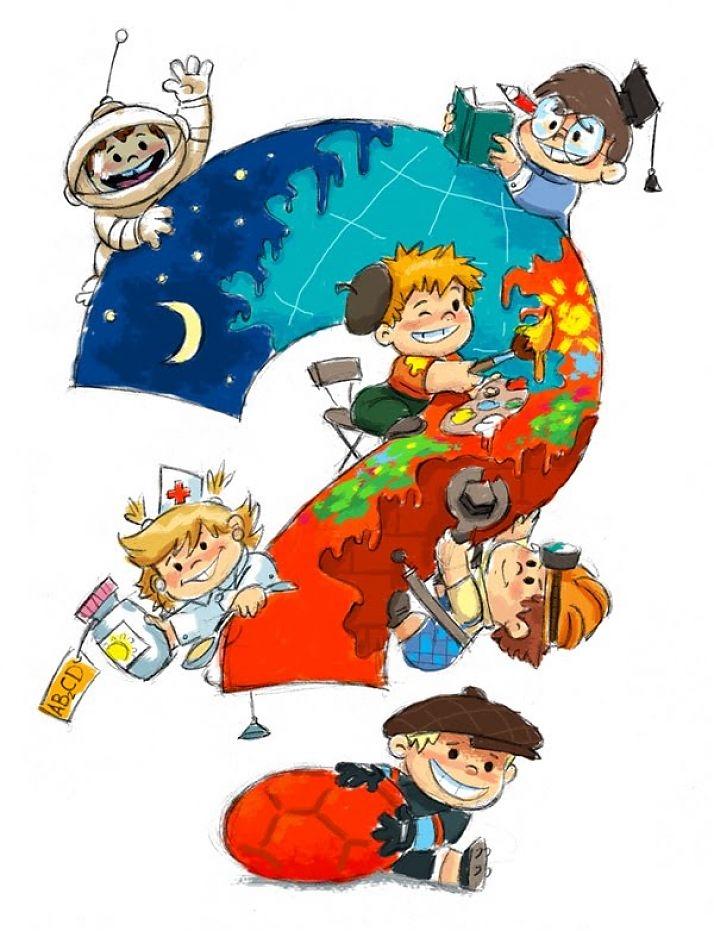 Картинки для детей почемучки 001