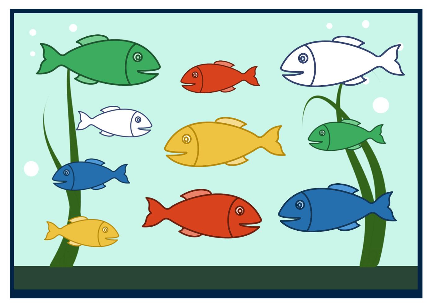 работе картинка рыбка средняя группа то