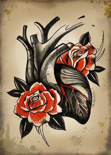 Картинки для детей сердце человека   рисунки 009