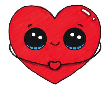 Картинки для детей сердце человека   рисунки 025