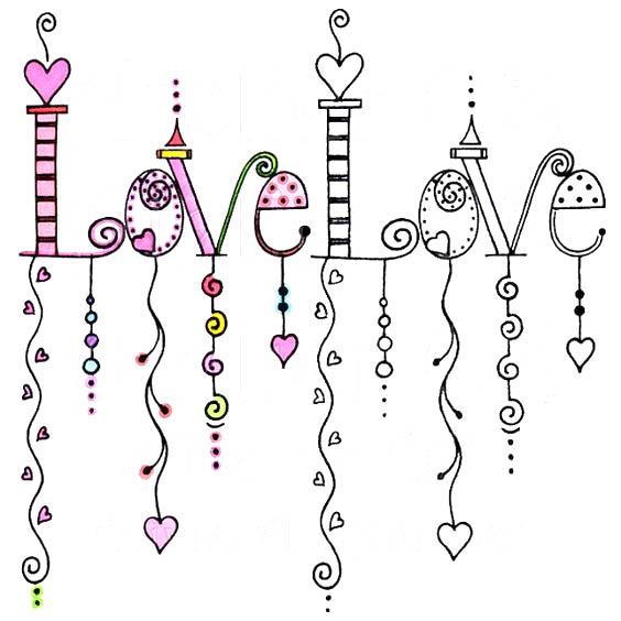 Картинки для личного дневника карандашом для девочки (1)
