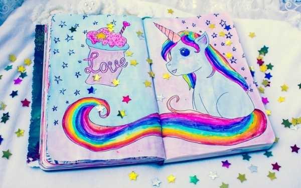 Картинки для личного дневника карандашом для девочки (12)