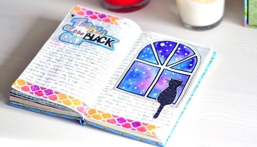 Картинки для личного дневника карандашом для девочки (18)