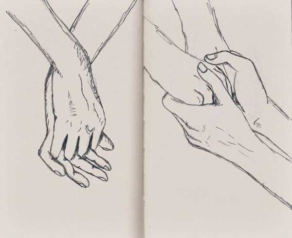 Картинки для личного дневника карандашом для девочки (4)