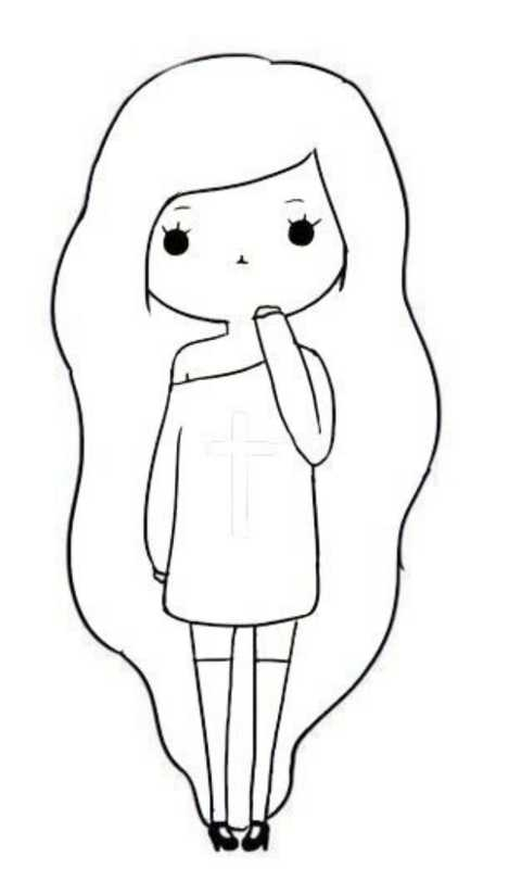 Картинки для личного дневника карандашом для девочки (7)