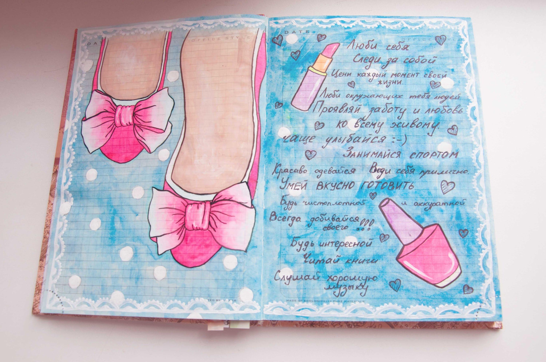 Картинки для личного дневника карандашом для девочки (9)