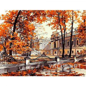 Картинки для срисовки Осень в человеческом обличии (12)