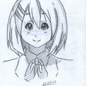 Картинки для срисовки аниме простые для срисовки (18)