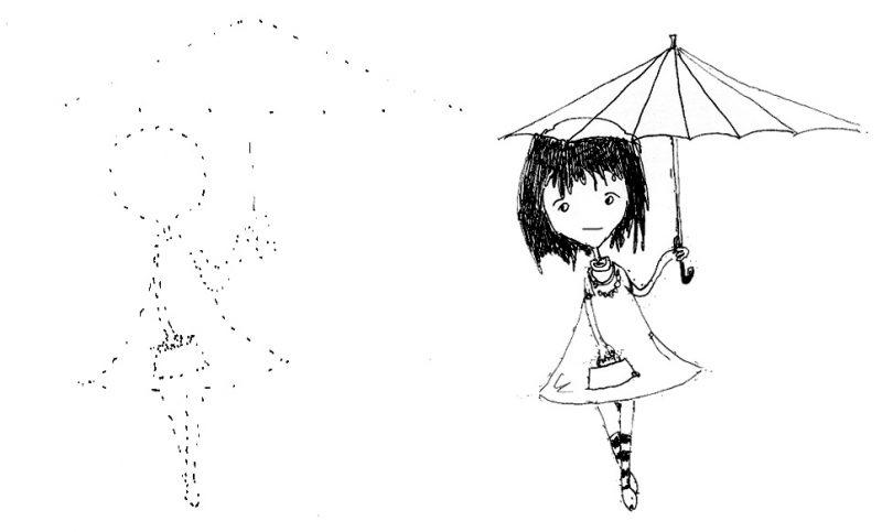 Картинки для срисовки в скетчбук.   красивые изображения 022