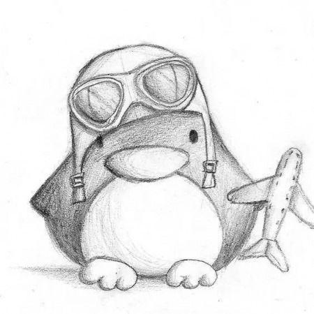 Картинки для срисовки животных легкие и простые 003