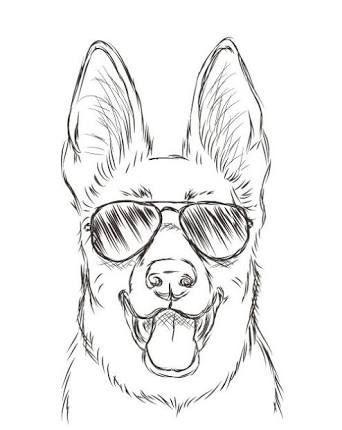 Картинки для срисовки животных легкие и простые 023