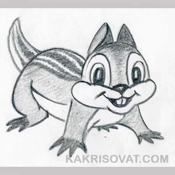 Картинки для срисовки животных легкие и простые 027