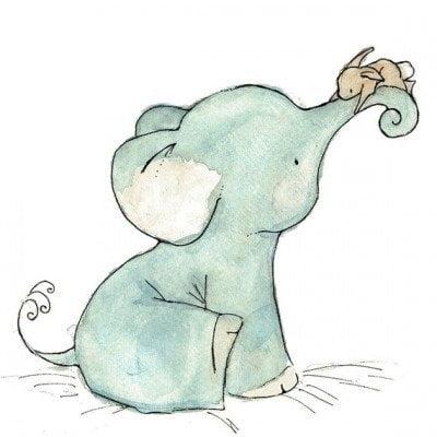 Картинки для срисовки животных легкие и простые 029