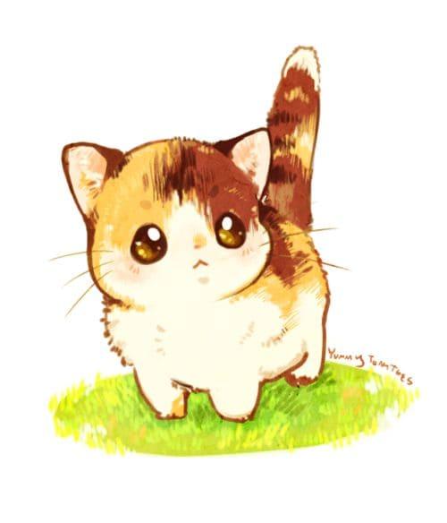 Картинки для срисовки кошки   красивые и милые (9)