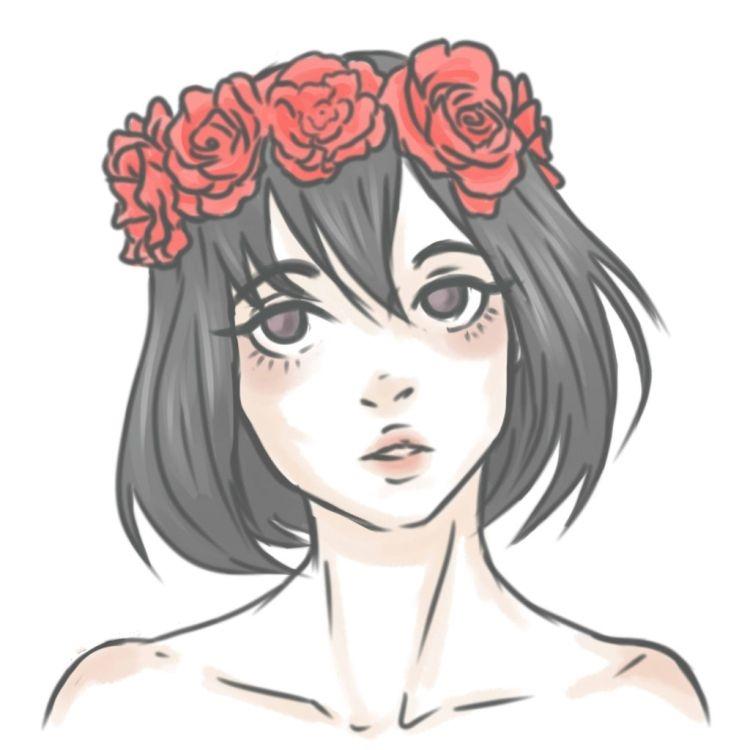 Картинки для срисовки милые тумблер 006