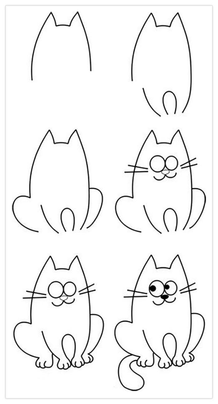 Картинки для срисовки очень легкие для детей (24)