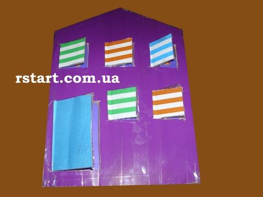 Картинки домик с окошками для детей 004