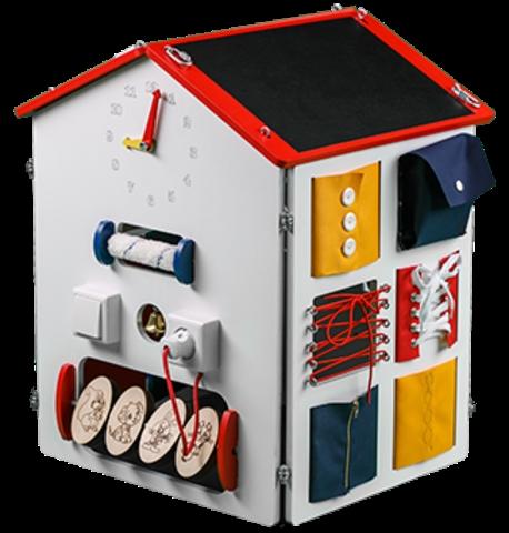 Картинки домик с окошками для детей 007