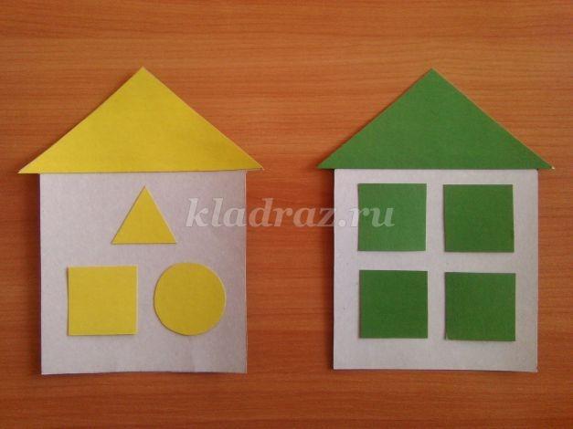 Картинки домик с окошками для детей 012
