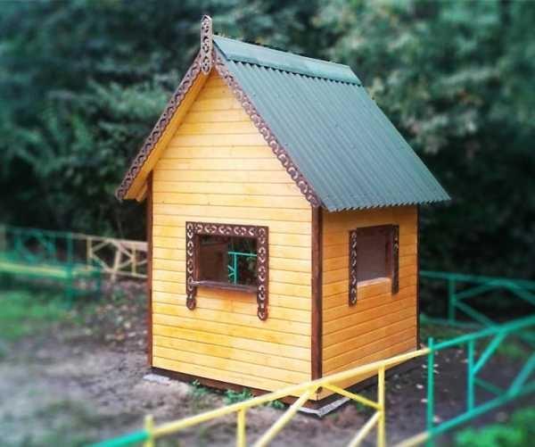 Картинки домик с окошками для детей 016