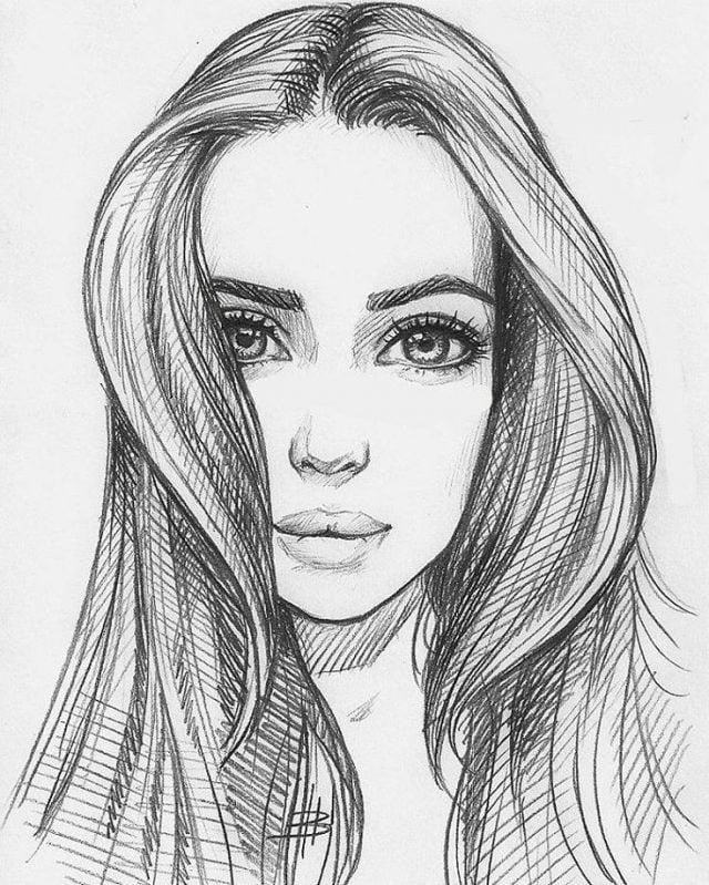 Картинки женщин прикольные нарисованные022