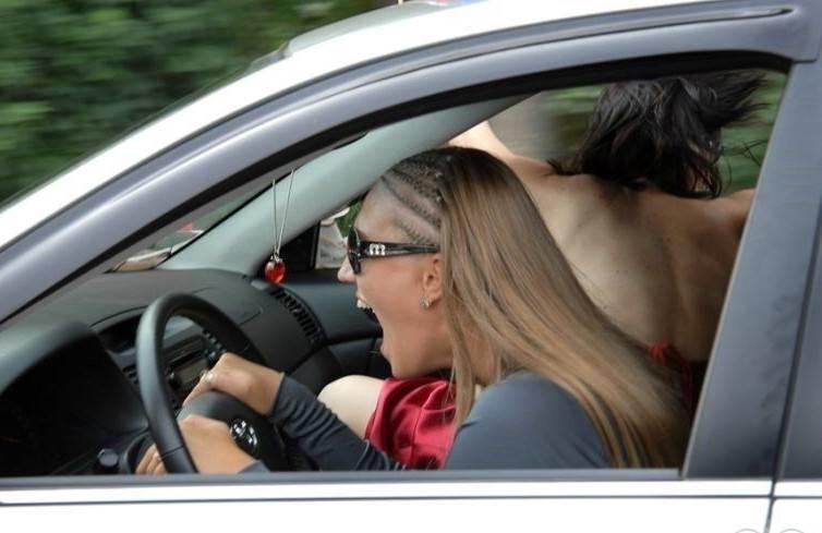 Картинки за рулем смешные и веселые014