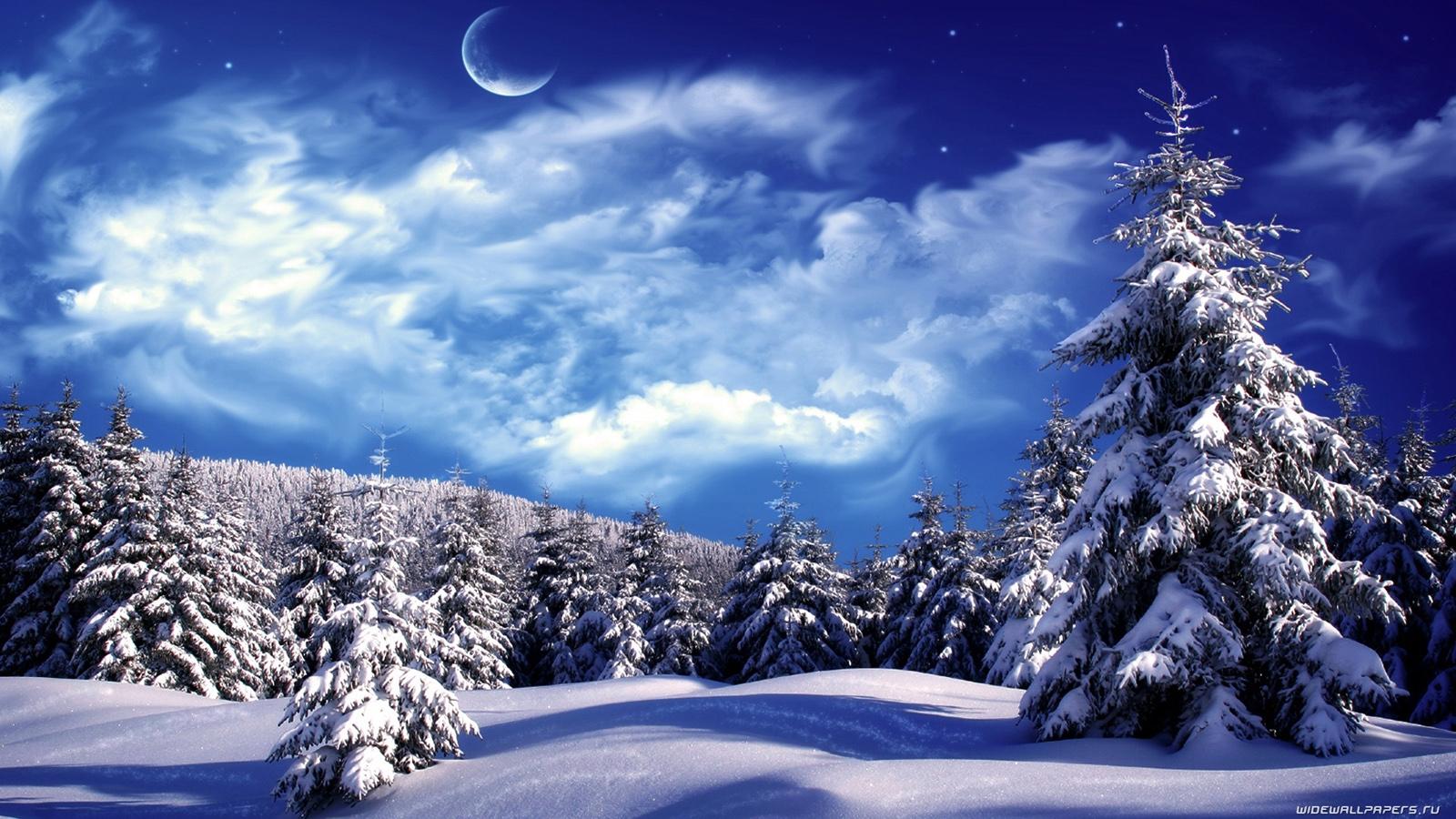 Картинки зима на рабочий стол — подборка обоев024