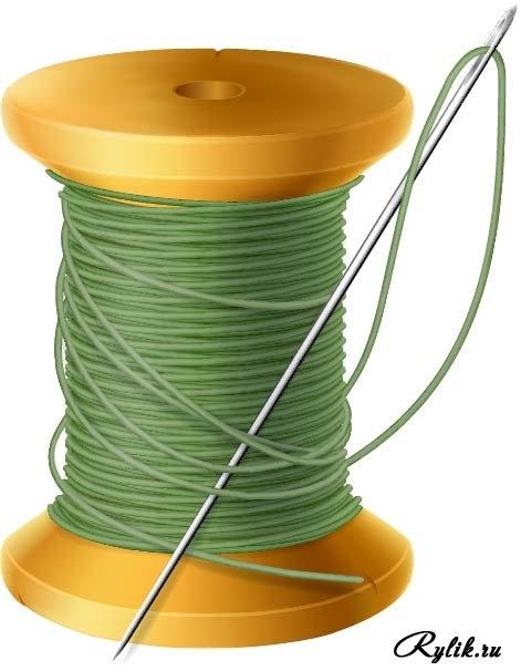 моя картинка катушка ниток с иголкой что предоставляется