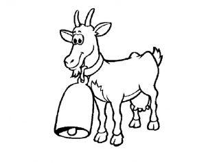 Картинки коза и козленок для детей028