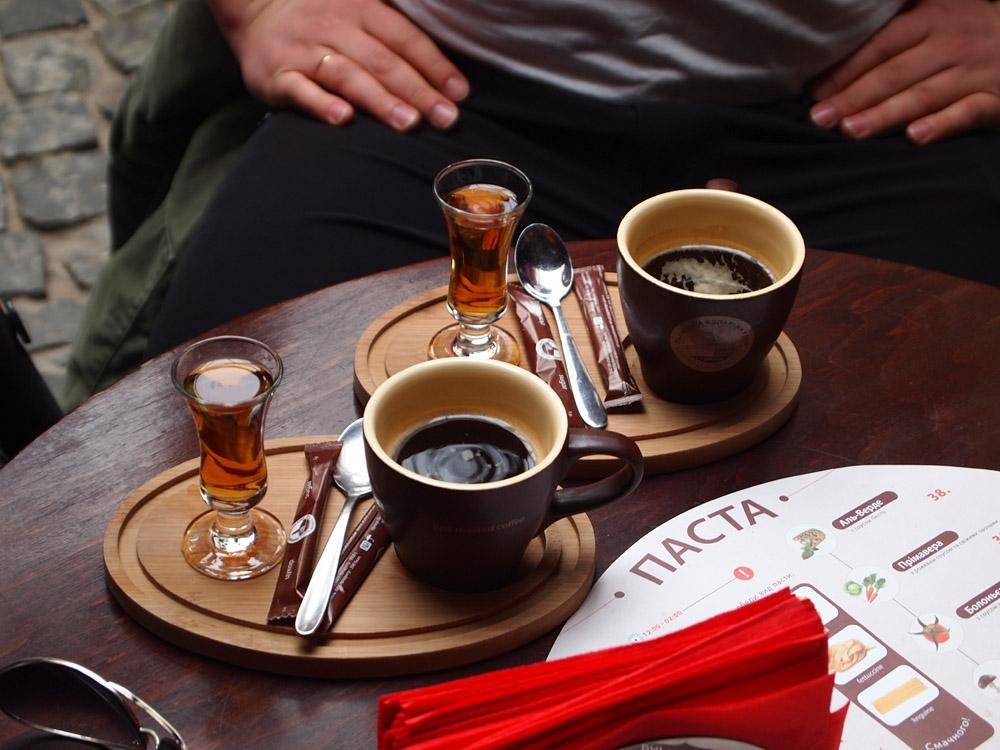 Открытки кофе с коньяком