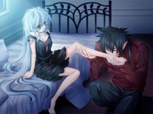 Картинки красивые аниме любовь 025