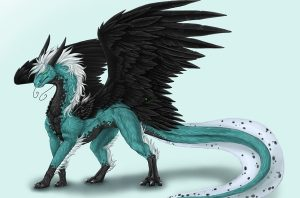 Картинки красивые с драконами 022
