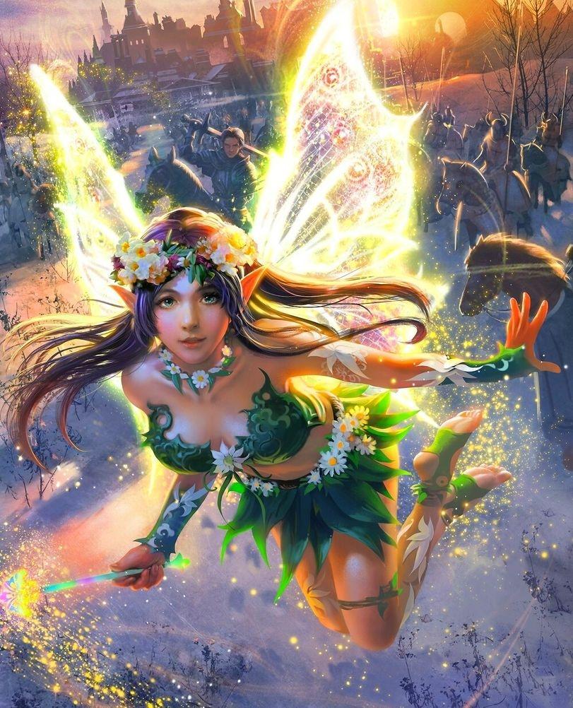 Картинки лесная фея   красивые арты, изображения (1)