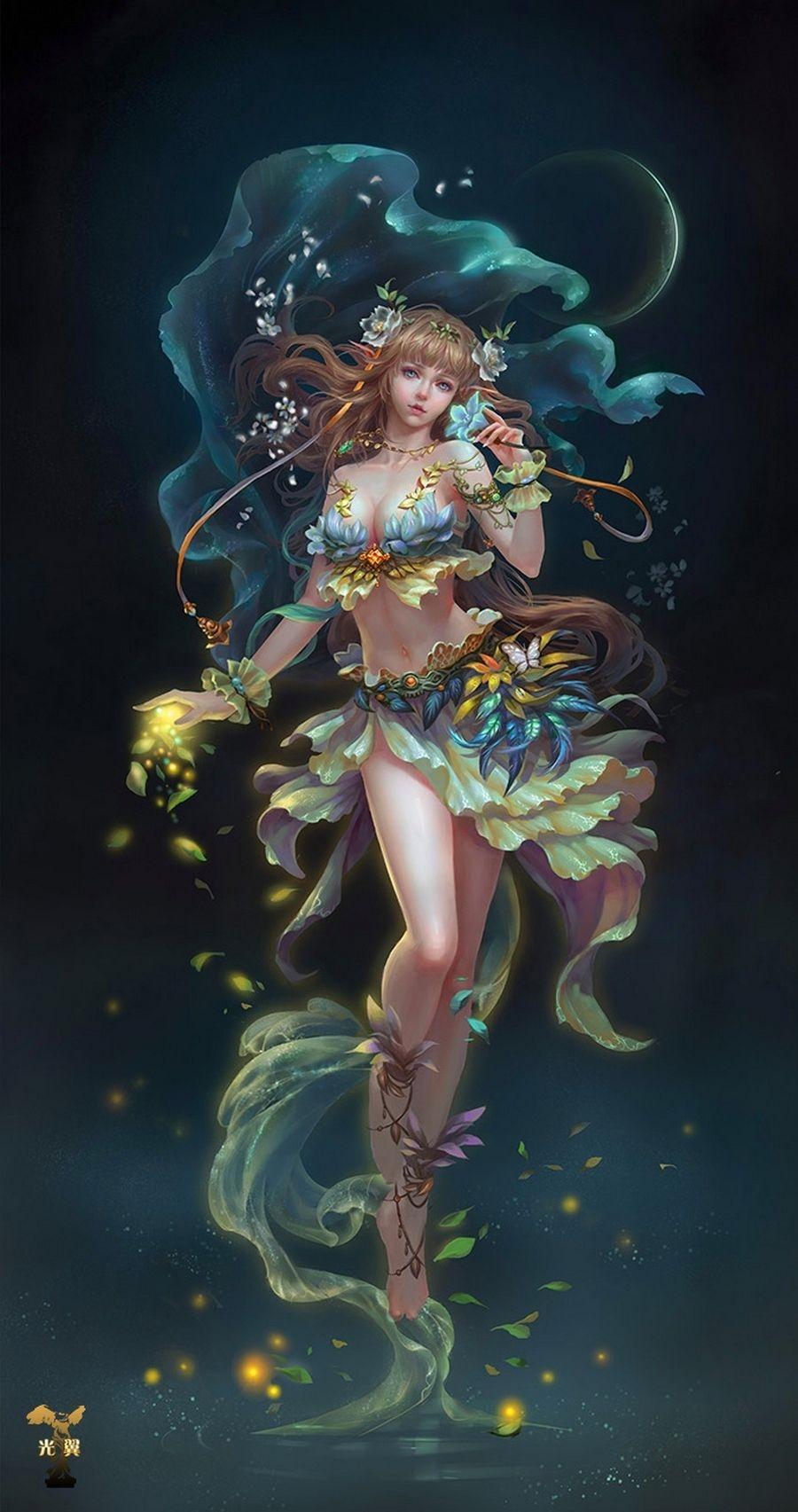 Картинки лесная фея   красивые арты, изображения (10)