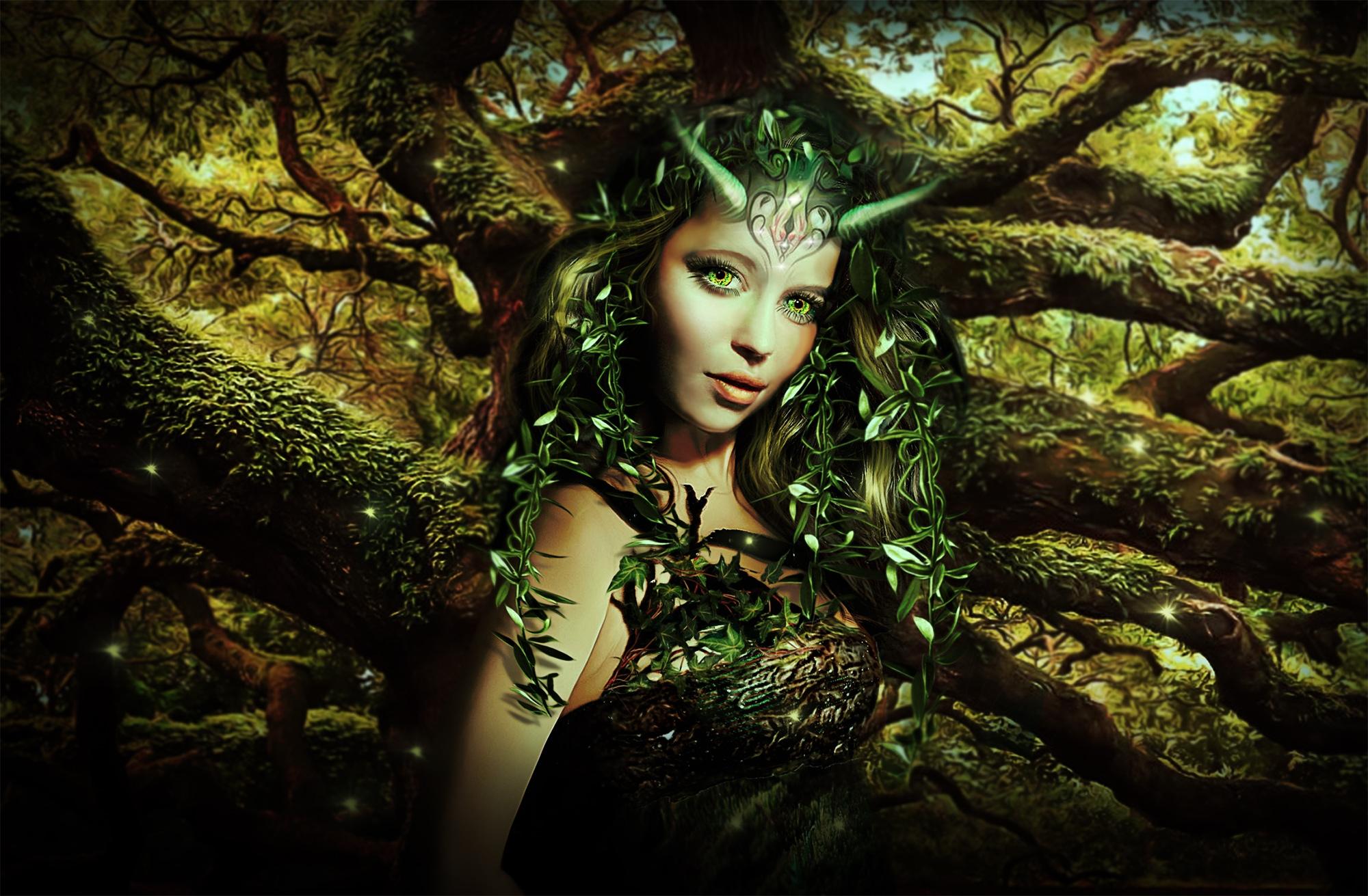 Картинки лесная фея   красивые арты, изображения (12)